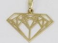 Přívěsek tvar diamantu