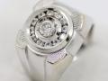 Pánský prsten bílé zlato